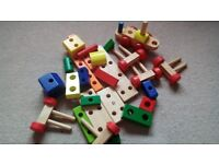 Wooden Toys Stack-able Truck VGC