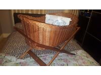 mosses basket with stand and cot moblie