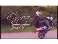 Yamaha slider 50cc stunt