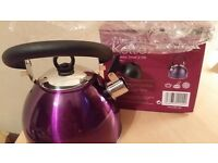 New whistling kettle