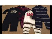 6-12 Months baby Gap All In Ones