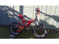 "Raleigh Kids Bike - 14"" Wheel"