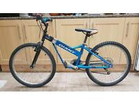 "Giant Fix 225 Boys Mountain Bike Alu. 12.5"" Frame. 24"" Wheel. Fully Working"