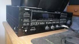 Yamaha AV Receiver Rx-v590rds with 2 mission tower speakers worth £100 each