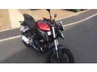 2015 Yamaha MT125 Abs Damaged/Repairable