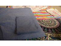 2 x double duvet cover & pillow sets