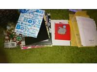 Gift bags and bubblewrap envelopes etc
