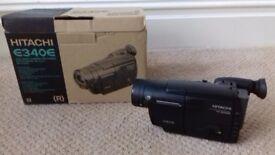 Excellent un-used Hitachi 8mm Video Camera/ Recorder VM-E340E