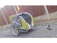 Doggyride Dog bike trailer excellent condition.