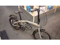 RALEIGH EVO 2 Folding Bike, RRP £250 Excellent Condition Fully Serviced By Bike Shop