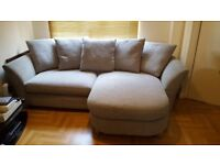 DFS ELLARIA 4 Seater Lounger Sofa - Immaculate Condition