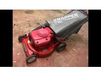 Lawnmower snapper hi vac