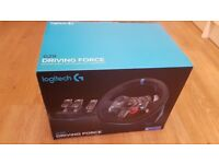 Logitech G29 - driving wheel and pedals for PS4/PS3/PC