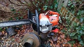 """Selling stihl 08 saw req some wee bits doing runs and cuts 20"""" bar"""