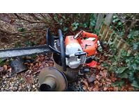 "Selling stihl 08 saw req some wee bits doing runs and cuts 20"" bar"
