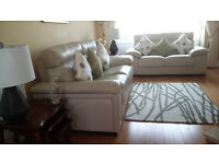 Merry 2 and 3 Seat Leather Sofa's