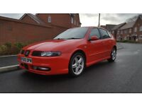 2004 SEAT LEON CUPRA 1.8 20V TURBO FLASH RED FSH