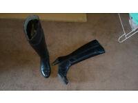 Jones bootmaker Tanya knee length ladies heel boots Size 7