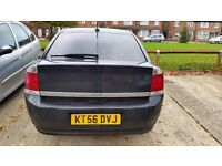 Black vauxhall vectra for sale