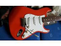Fender Fiesta Red California Series Stratocaster