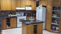 KITCHEN  CABINETS for sale GRANITE included EXCELLENT condition