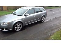 Audi A4 S Line 2006 Low Miles 6 Speed 1 Year Mot