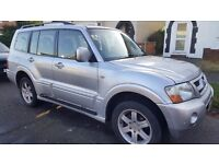 MITSUBISHI SHOGUN 05 **WARRIOR - DIESEL**AUTO-7 SEATER-leather 4X4(4LO-4HI)-towing pack- EXCELLENT
