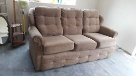 3 Seater Sofa & 2 Reclining chairs