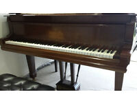 Steinway & Sons Grand Piano Rosewood c1900 Restored lovely instrument