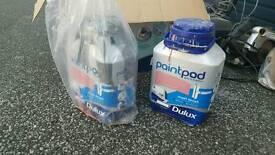 Paint pot (2xbox)and 2pots full paint