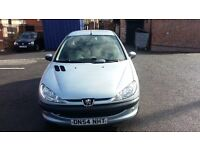 2005 PEUGEOT 206 1.1 ZEST , MOT , 1 PREVIOUS OWNER FROM NEW