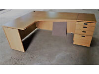 Joblot wholesale Quality Used Office Furniture=Fantoni Desks/Draws/Storage cupboards/cabinets/chairs