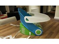 Bumbo Seat (Summer) Table top high chair