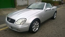 MERCEDES SLK 230 KOMPRESSOR AUTO HARD TOP CONVERTIBLE RECENT MOT, HPI CLEAR
