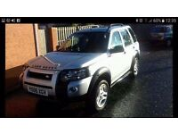 2006 landrover freelander 2.0 tdi freestyle 4x4 half leather stunning condition