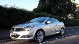Best Price! Vauxhall Astra Convertible Twin Top 2006 1.8 Petrol Stunning Fully Working Hard Top