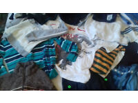 BOYS CLOTHES BUNDLE 9-11 YEARS 24 ITEMS