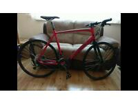 Custome Ridgeback Triple Butted Aluminium/Carbon Road Bike