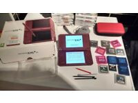 Nintendo DS I XL in box with games