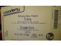 PJ Harvey Tickets for Sale - Face Value