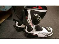 RST Motorcycle boots size 10 (44) worn about 4 times
