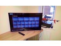 "Sony 40"" Smart Widescreen 3D HD 1080P LCD TV with remote in good working order and condition"