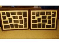 2 large photo frames