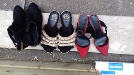 Size 4 Brand New & Almost New Shoes