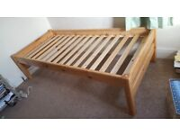 SOLID PINE SINGLE BED FOR SALE