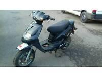 Scooter 50cc runs, needs TLC hence price