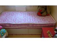 Small Single Divan with Storage - Mattress Included - Excellent Condition