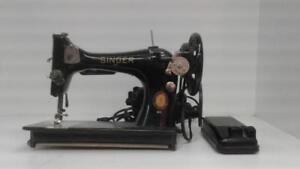 Antique Singer Sewing Machine (1) (#52838) (DR128481) We Sell Used Tools!