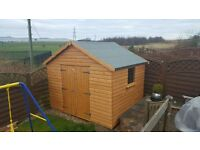 10x8 heavy duty apex shed £639