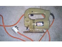 Box of power tools,